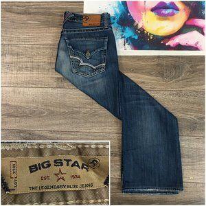 Big Star Pioneer Men's 30x29 Regular Boot Jeans